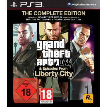 Grand Theft Auto IV: Complete Edition (GTA 4) (Playstation 3)