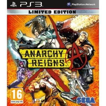 Anarchy Reigns. Limited Edition  (Playstation 3)