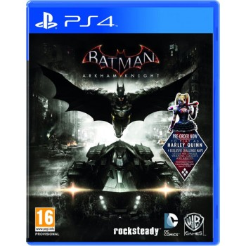 Batman Arkham Knight [Бэтмен: Рыцарь Аркхема] (Playstation 4)