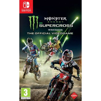 Monster Energy Supercross - The Official Videogame (Nintendo Switch)