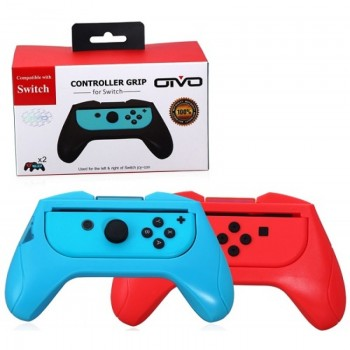Насадка для Joy Con (Red/Blue, 2шт.)